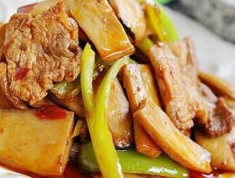 虎奶菇炒肉