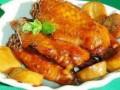杏鲍菇炖鸡翅